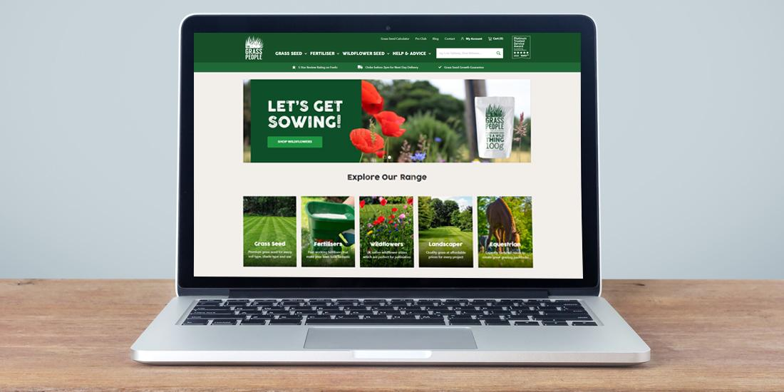 How to buy grass seed online from The Grass People