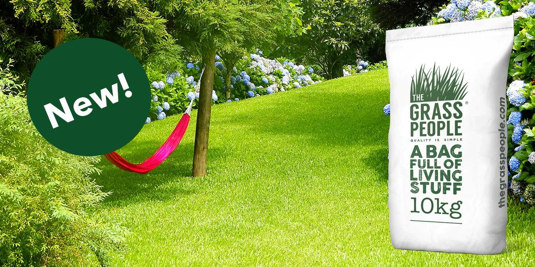 Self-Repairing Lawn Grass Seed Mixture, NEW from The Grass People