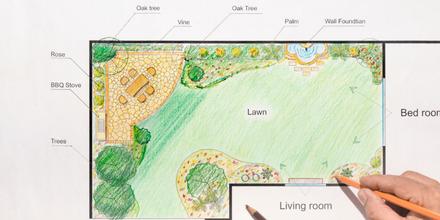 Top 6 landscape design tips