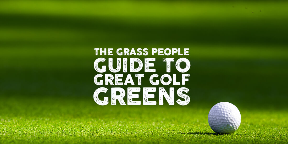 How to manage your golf greens